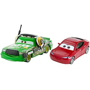 Disney•Pixar Cars 3 Chick Hicks with Headset & Natalie Certain Die-Cast Vehicle 2-Pack