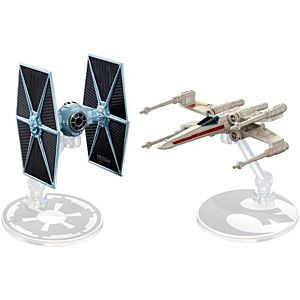 Hot Wheels® Star Wars™ Rogue One TIE Fighter™ vs X-wing Fighter™ Red Two Starship 2-Pack