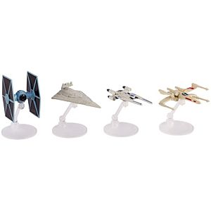 Hot Wheels® Star Wars™ Rogue One Starship, 4-pack