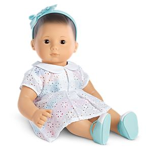 Sunny Flowers Dress for Bitty Baby Dolls