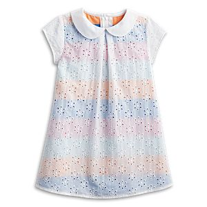 Sunny Flowers Dress for Little Girls