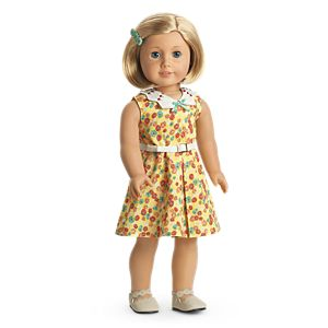 Kit's Floral-Print Dress for 18-inch Dolls