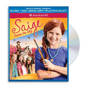 Saige Paints the Sky Two-Disc Blu-ray/DVD Combo Pack