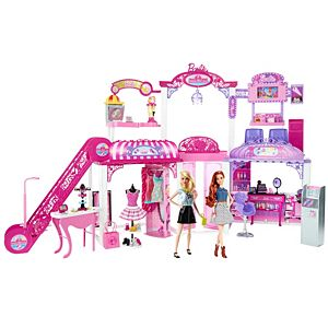 Barbie® Malibu Ave™ Mall & Dolls