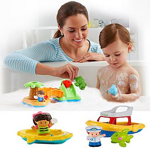 Little People Bath Time Fun Gift Set