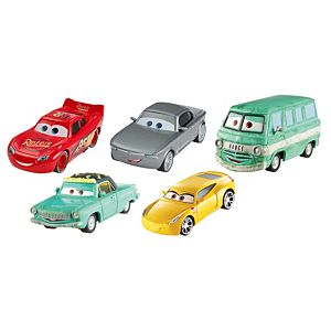 Disney Pixar Cars 3 Die-Cast Dot-Com 5-Pack