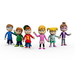 Alvin and the Chipmunks™ We're The Chipmunks Collectible Figures
