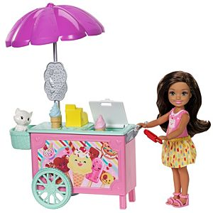 Barbie® Club Chelsea™ Doll and Ice Cream Cart