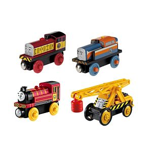 Thomas & Friends™ Wooden Railway Steamies vs. Diesels 4-Pack