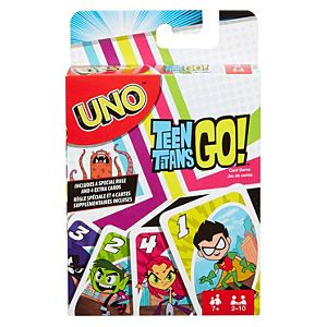 UNO Teen Titans Card Game