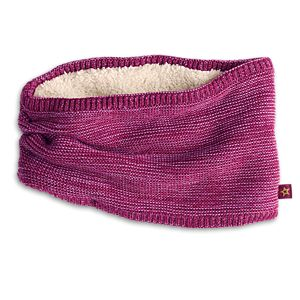 Marled-Knit Neck Warmer for Girls