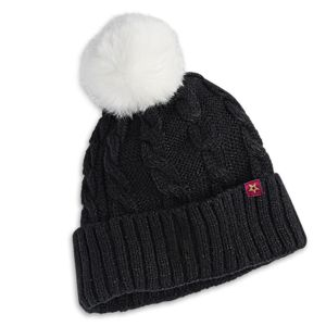 Sequin Pom Beanie for Girls