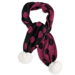 Sequin-Dot Scarf for Girls