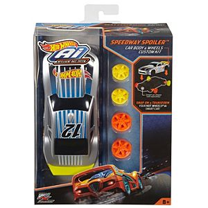 Hot Wheels® Ai Speedway Spoiler™ Car Body & Wheels Custom Kit