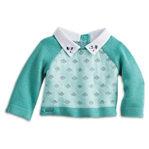 Classic Knit Sweater for 18-inch Dolls