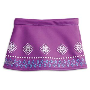Purple Skirt for 18-inch Dolls