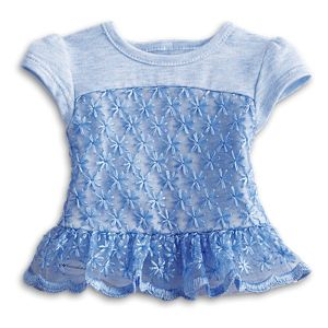 Peplum Top for 18-inch Dolls