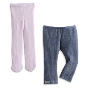 Tights & Leggings Set for 18-inch Dolls