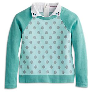 Classic Knit Sweater for Girls