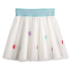 Mesh Flower Skirt for Girls