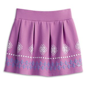 Purple Skirt for Girls