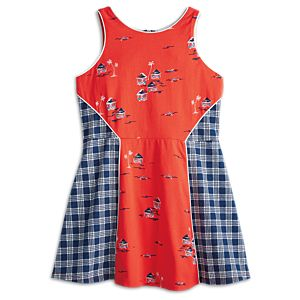 Hawaiian Print Dress for Girls