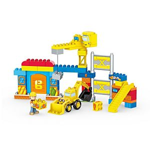 Mega Bloks® Bob the Builder™ Work Yard Build-Up