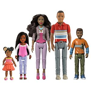 Loving Family Figures - African American