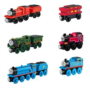 Thomas Wooden Railway 6 Engine Pack
