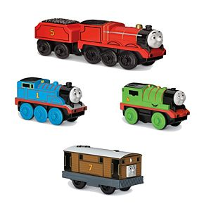 Thomas Wooden Railway Battery Operated Engine Set