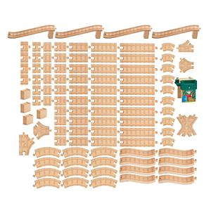 Thomas Wooden Railway 100 PC Track Pack