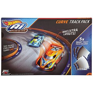 Hot Wheels® Ai  Curve Track Pack Accessory