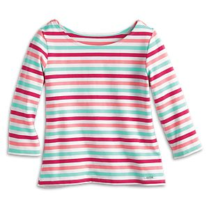 Nifty Striped Tee for Girls