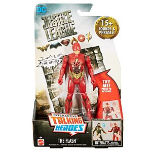 Justice League Talking Heroes The Flash™ Figure
