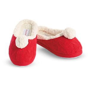 Festive Slippers for Girls