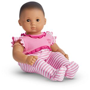 Stripes & Ruffles Outfit for Bitty Baby Dolls
