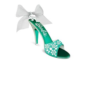 Hallmark Keepsake Holiday Barbie™ Ornaments - Shoe-sational!