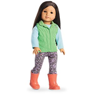 Z's Rainy Day Outfit for 18-inch Dolls