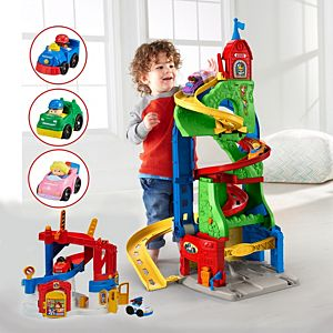 Little People Race & Chase Town to Mountain Gift Set
