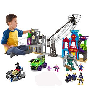 Imaginext DC Super Friends Super Flight City Ultimate Gift Set