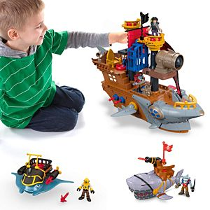 Imaginext Ultimate Pirate Battle Gift Set
