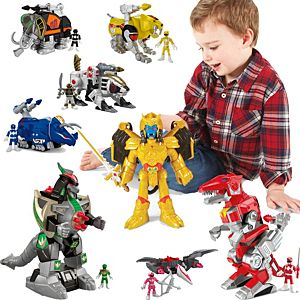 Imaginext Power Rangers Complete Character Gift Set