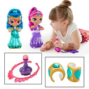 Shimmer & Shine Wish & Spin Ultimate Gift Set and Roleplay