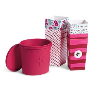American Girl for Williams-Sonoma Popcorn Set