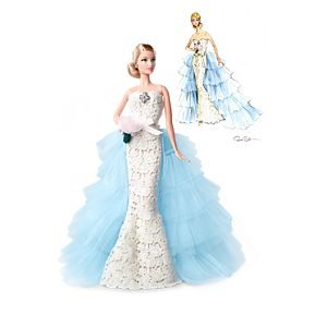 Oscar de la Renta Barbie® Doll + Limited Edition Sketch