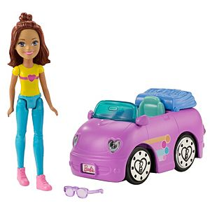 Barbie® On The Go™ Purple Car and Doll