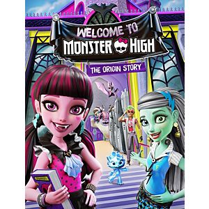 Monster High™ Welcome To Monster High - The Origin Story DVD