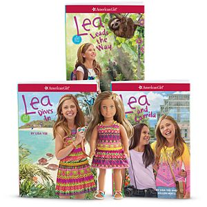 Lea Mini Doll & 3-Book Set