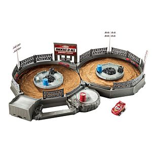 Disney•Pixar Cars Mini Racers Crank & Crash Derby Playset