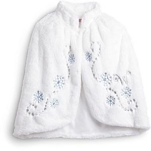 Winter Wishes Cape for Girls